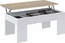 Habitdesign 0F1640A - Table basse élévatrice Low
