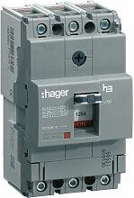 Hager - Disjoncteur boîtier moulé x160 3P 18kA