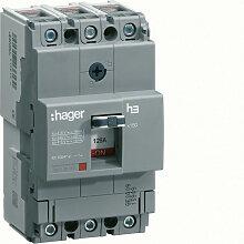 Hager - Disjoncteur boîtier moulé x160 3P 25kA