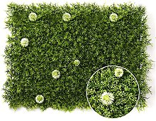 Haie Artificielle Plante Verte,Panneau De Mur