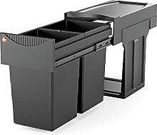 Hailo Black Edition Collecteur de déchets limité
