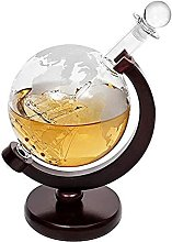 HAITRAL Globe Carafe à décanter en fibre de