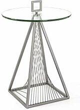 Haku Moebel 17724 table d'appoint, métal,
