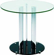 Haku Möbel 87567 Table Basse d'Appoint Tube