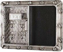 Haku Möbel boîte à clés, Métal, 7 x 60 x 46