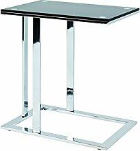 Haku Moebel table d'appoint, Acier,