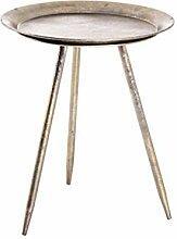 Haku Möbel Table d'appoint, Métal, Bronze,