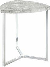 Haku Möbel Table d'Appoint, Tube d'Acier,
