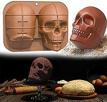 Halloween à la main cuisson à pâtisserie au