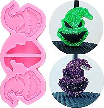Halloween CLOW CLOW Topper Silicone Moules