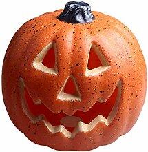 Halloween Decoration Exterieur Citrouille Sorciere