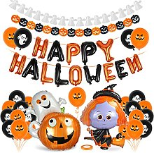 Halloween Décoration Set,Guirlande