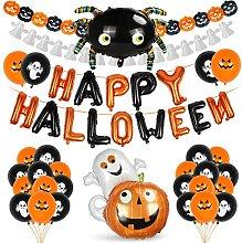 Halloween Décoration Set,Guirlande Halloween,