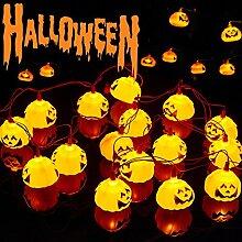 Halloween Guirlande Lumineuse, Halloween Rideau