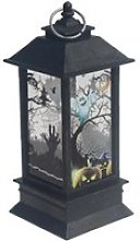 Halloween Lanterne Scary Ghost Bougie Huile Lampe