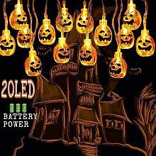 Halloween LED Citrouille Guirlande Lumières 3M20