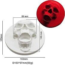 Halloween Skull Design Silicone Gâteau Moule