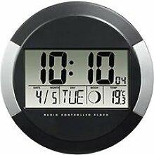 Hama Horloge murale -PP-245- (radio-pilotée DCF,