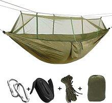 Hamac de jardin de Camping avec moustiquaire, 2