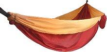 Hamac de voyage en toile de parachute en orange