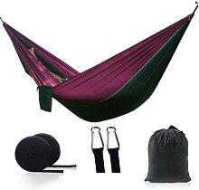 Hamac Parachute de Camping Portable, mobilier