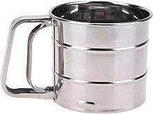 Handheld Flour Shaker Stainless Steel Kitchen Mesh