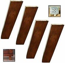 Hanghaijia Pieds de meubles en bois, pieds de