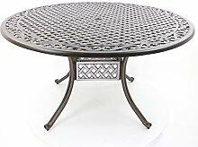 Hanseatie Contor GmbH Table de jardin ronde en