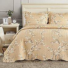 Hansleep Couvre-lit matelassé pour lit double 220