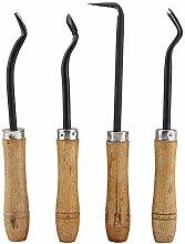 Haofy Bonsai Carving Tool Set 4pcs Couteau à