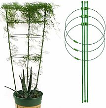 Haokaini Treillis de Jardin Treillis pour Plantes