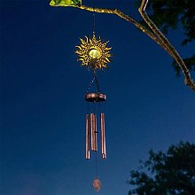 HAOXIU Ramadan Carillon LED solaire Vent