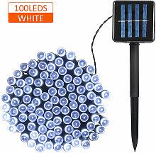Happyshop - Guirlande lumineuse solaire nue, 100