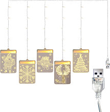 Happyshop - Luminaires suspendus 3D Decoration de
