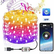 Happyshop - USB bluetooth guirlande lumineuse fil