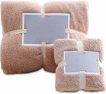 Happyshopping - Ensemble de serviettes de douche