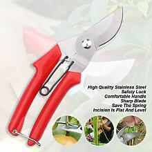 Happyshopping - Secateur de jardinage en acier