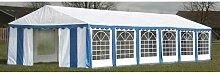 Happyshopping - Tente de reception 12 x 6 m Bleu