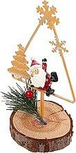 Happyyami Table de Noël Décoration Vintage Santa