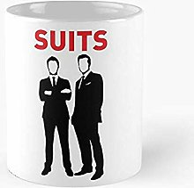 Harvey Specter et Mike Ross ont mis une tasse de