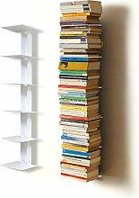 Haseform Bibliothèque Colonne Blanc 90 cm