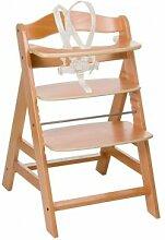 Hauck Chaise haute Hauck Alpha + en bois naturel