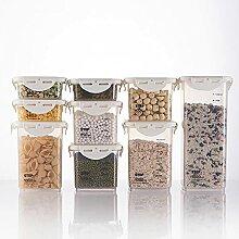 Haucy Lot de 9 Boîtes de Conservation Alimentaire