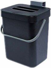 Haude Poubelle de cuisine à compost pour comptoir
