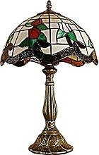 HAUSELIEBE Lampe De Table De Style Tiffany Rétro