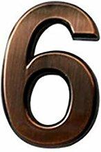 haute qualité Matériel de 6 pouces Numéro de la