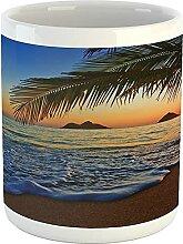 Hawaiian Mug, Pacific Sunrise at Lanikai Beach
