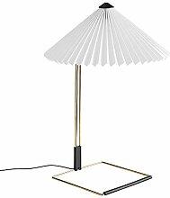 HAY Matin Lampe de table LED L Blanc 52 cm