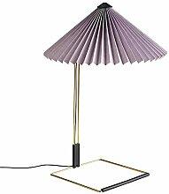 HAY Matin Lampe de table LED L Lavande 52 cm