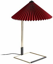 Hay Matin Lampe de table LED L Rouge